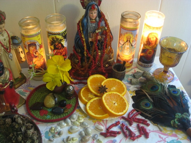 Erzulie Oil-Voodoo-Hoodoo-Witchcraft-Lwa of Love, Riches, Fortune,  Beauty-Black Madonna, Mater Dolorosa